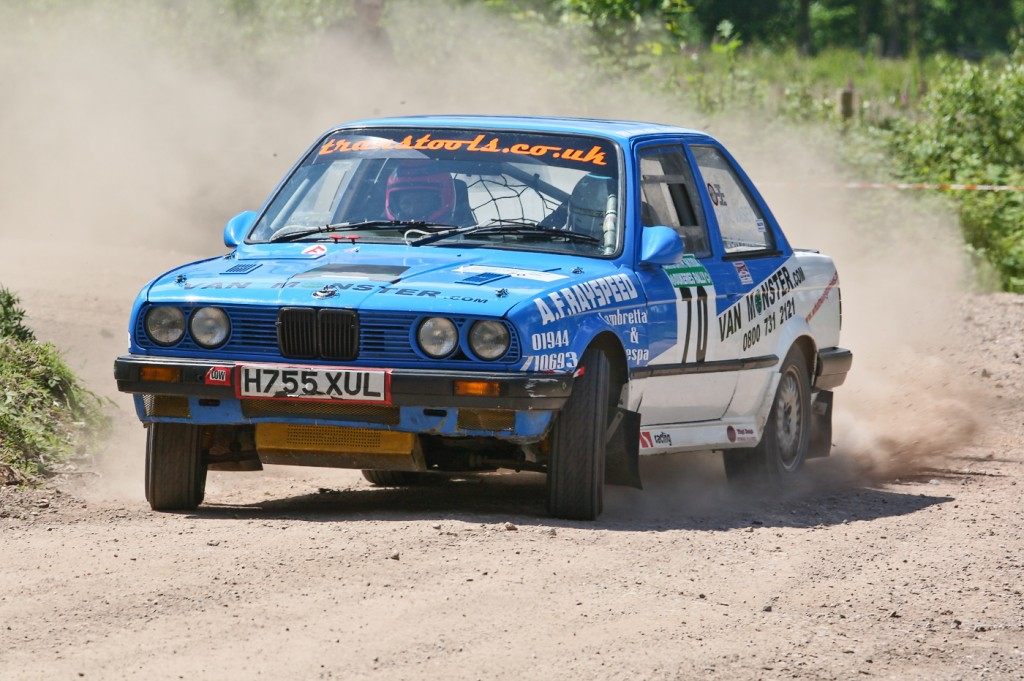 Jon Finch & Paul Vasey Dukeries Rally 2008