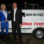 Faye with Van Monster