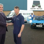 Sally and Paul Vasey at Van Monster with the BMW