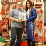 Tori and Peter Wilkinson VF-Racing Website Designer at Transtools