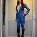 Tori in VF-Racing Outfit at Transtools